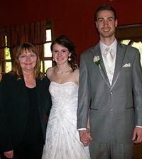 Joan with Jamie and Logan