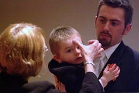 Christening a child